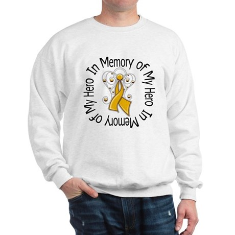 In Memory Appendix Cancer Sweatshirt