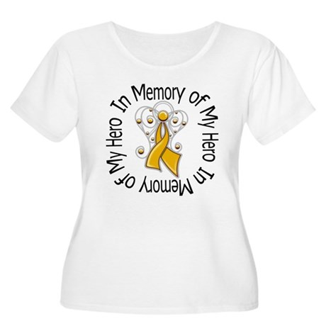 In Memory Appendix Cancer Women's Plus Size Scoop