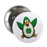 "Irish Penguin 2.25"" Button (100 pack)"