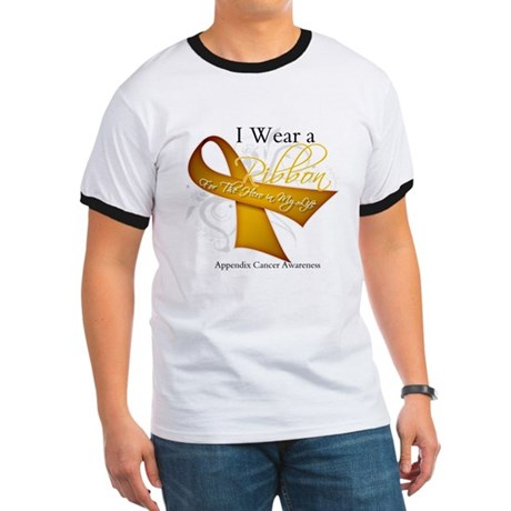 Ribbon Hero Appendix Cancer Ringer T