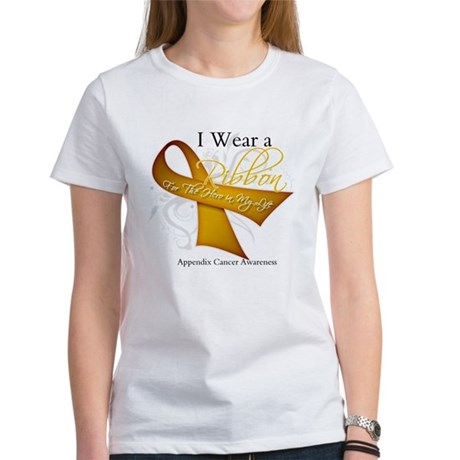 Ribbon Hero Appendix Cancer Women's T-Shirt