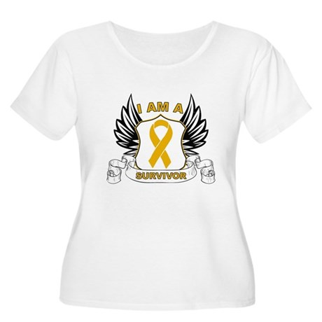 Survivor Appendix Cancer Women's Plus Size Scoop N