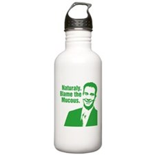Blame The Mucous -- Green Water Bottle
