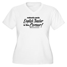 English Teacher Nobody Corner T-Shirt