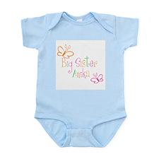 Big Sister Anika Infant Bodysuit
