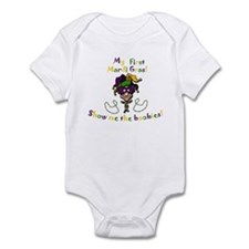 My First Mardi Gras! Infant Bodysuit
