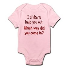 Like to Help You Out Infant Bodysuit