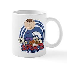 Boy Soccer All Star Small Mug