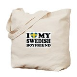 I Love My Swedish Boyfriend Tote Bag