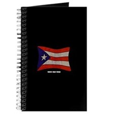 Puerto Rico Flag Graffiti Journal