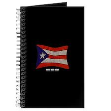 Puerto Rico Flag Graffiti Journal