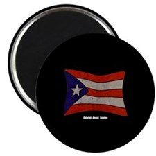 "Puerto Rico Flag Graffiti 2.25"" Magnet (100 pack)"