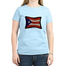 Puerto Rico Flag Graffiti T-Shirt