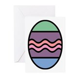 Easter Egg Greeting Cards (Pk of 10)