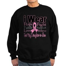 DaughterinLaw Breast Cancer Sweatshirt