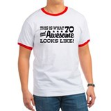 Funny 70th Birthday T