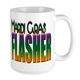 Mardi Gras Flasher Mug