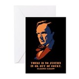 Darrow - Justice Greeting Cards (Pk of 10)