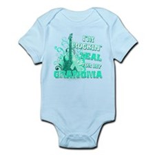 I'm Rockin' Teal for my Grandma Infant Bodysuit