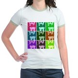 Wheaton Terrier Pop Art T