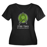 Star Trek St. Patrick Ed. Women's Plus Size Scoop