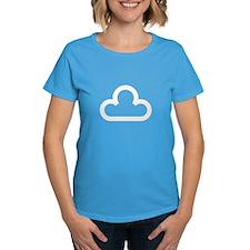 White Cloud Symbol Tee
