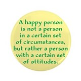 Happy Person 3.5&quot; Button