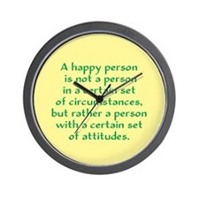 Happy Person Wall Clock