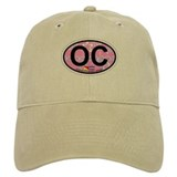 Ocean City NJ - Oval Design Baseball Cap