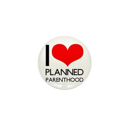 I Heart Planned Parenthood Mini Button