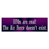UFOs are Real Bumper Sticker