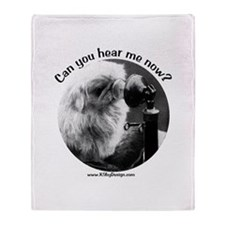 Can you hear me now? Throw Blanket