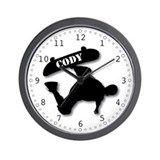 Cody - Skateboard Wall Clock