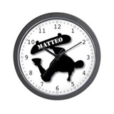 Matteo - Skateboard Wall Clock