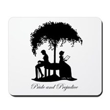 Jane Austen Pride and Prejudice Gift Mousepad