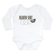 Heaven Sent Long Sleeve Infant Bodysuit