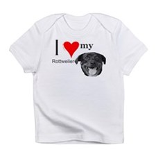 Cute Love my rottweiler Infant T-Shirt