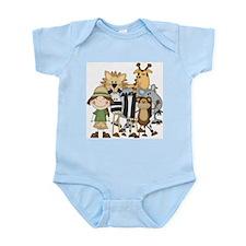Girl on Safari Infant Bodysuit