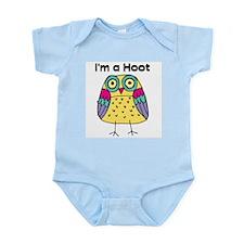 Yellow Owl I'm a Hoot Infant Bodysuit