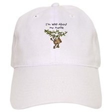 Wild About Auntie Long Sleeve Baseball Cap
