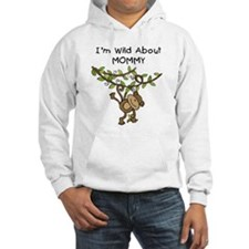 Wild About Mommy Long Sleeve Hoodie