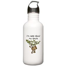 Wild About My Uncle Long Sleeve Water Bottle