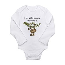Wild About My Uncle Long Sleeve Long Sleeve Infant