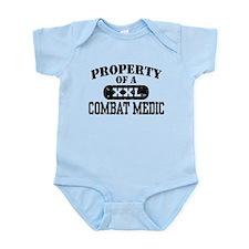 Property of a Combat Medic Infant Bodysuit