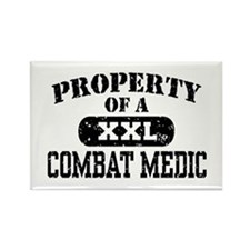 Property of a Combat Medic Rectangle Magnet