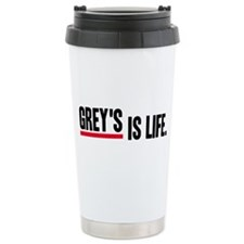 Grey's Is Life Stainless Steel Travel Mug