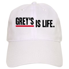 Grey's Is Life Cap