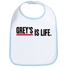 Grey's Is Life Bib