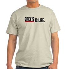 Grey's Is Life Light T-Shirt