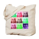 Aleister Crowley in Color Tote Bag